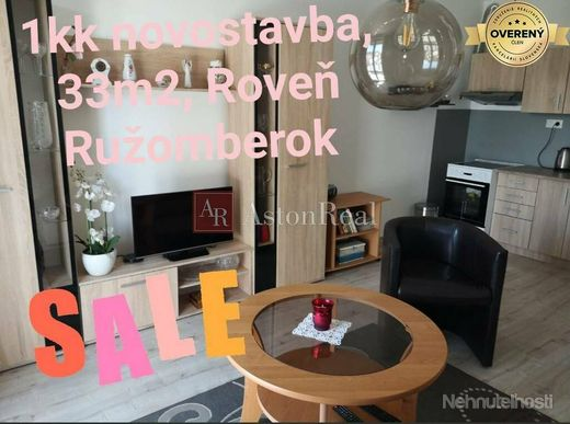 Predaj: 1kk s balkónom - 33m2, Ružomberok - Roveň - obrázok