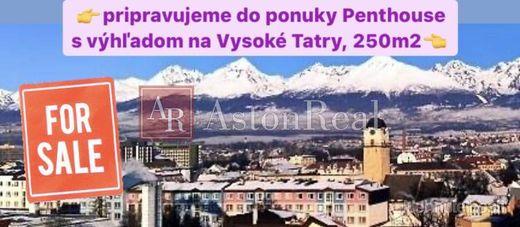 Pripravujeme na predaj Penthouse v Poprade s výhľadom na Vysoké Tatry - obrázok