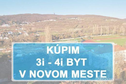 KÚPIME 3i, 4i BYT -  BAIII - Nové mesto - obrázok