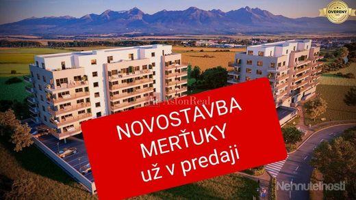 Novostavba 2-izbový byt Poprad-Nový Juh Bytový dom Merťuky - obrázok