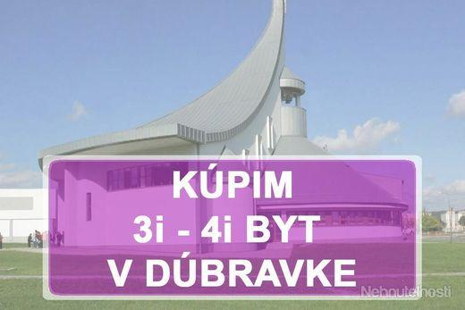 KÚPIME 3i, 4i BYT -  BAIV - Dúbravka - obrázok
