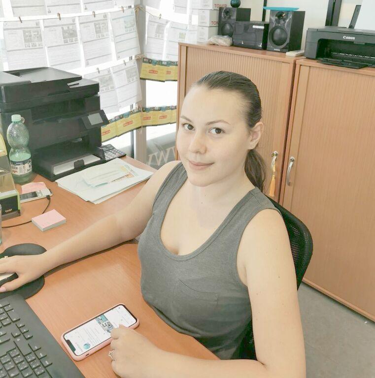 Asistentka RK Quality SC - Michaela Molnárová